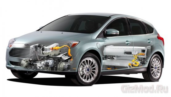 Достоинства Ford Focus Electric