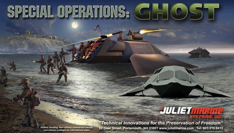 Создатели вооружают суперкавитирующий катер