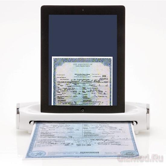 Портативный сканер для iPad