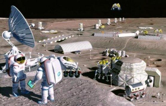 Роскосмос планирует станцию на Луне