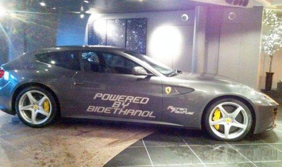Биоэтанол придает Ferrari FF 225 лошадей