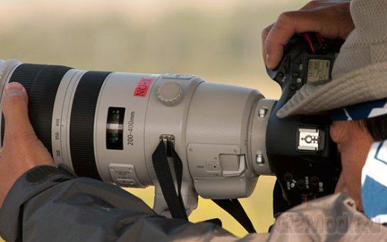 Новинки Canon замечены на полевых испытаниях