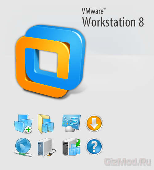 VMware Workstation 8.0.2.591240 - виртуализация