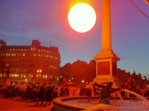 Искуственное Солнце в Лондоне