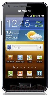 Samsung GALAXY S Advance пополнил ряды смартфонов