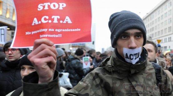 В Польше не приняли антипиратский закон