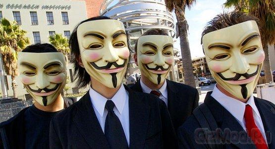Хакеры из Anonymous насолили ФБР