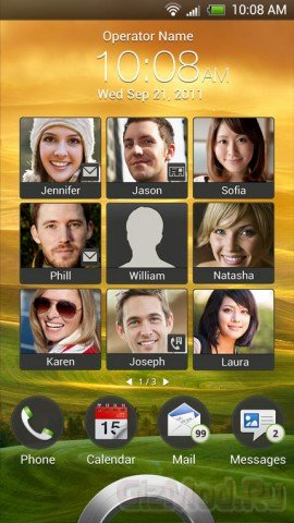 Скриншоты интерфейса HTC Sense 4.0