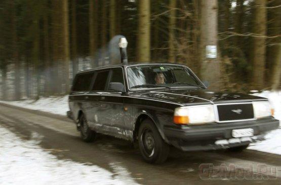 """С """"буржуйкой"""" в машине мороз не страшен"""