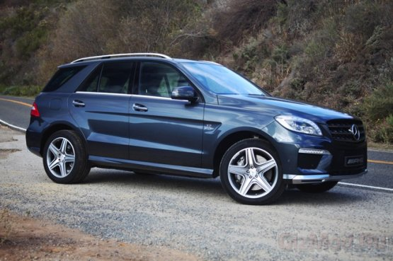 Суперкроссовер Mercedes-Benz 2012 ML63 AMG