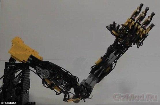 Lego-рука с множеством степеней свободы