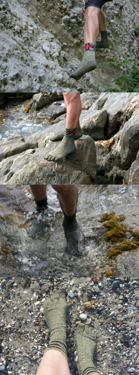 Носки из кевлара для любителей гулять босиком