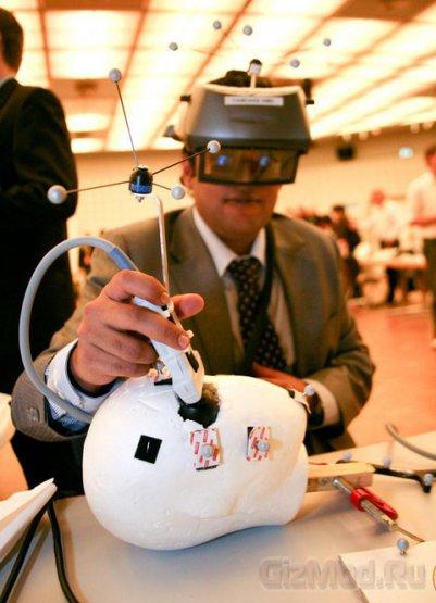 Дополненная реальность поможет лечить астронавтов