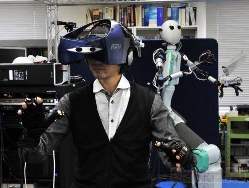 Японцы смастерили робота-аватара