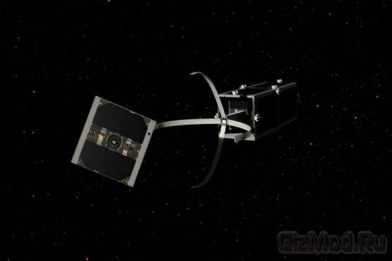 Спутники-камикадзе приберуться в космосе