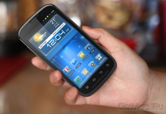 Tegra 2-смартфон ZTE Mimosa X