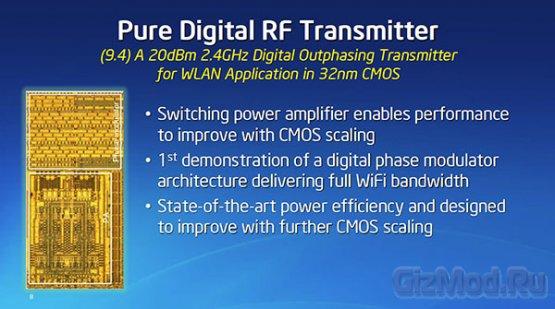 Встроенный модуль Wi-Fi в 2-ядерном чипе Intel Atom