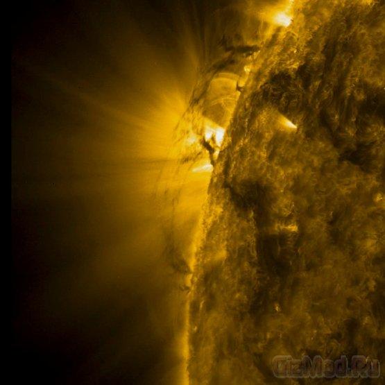 Солнечные торнадо