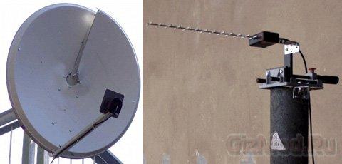 Передача информации на скрученной радиоволне