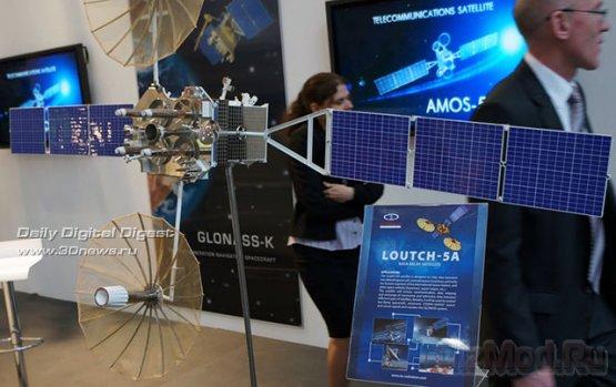 Российские космические технологии на CeBIT 2012