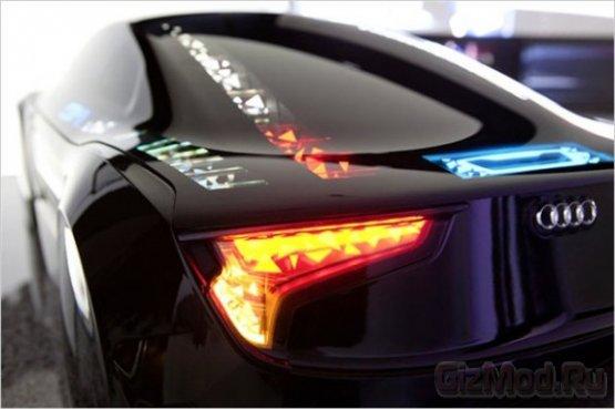 Visions OLED - светящийся концепт Audi