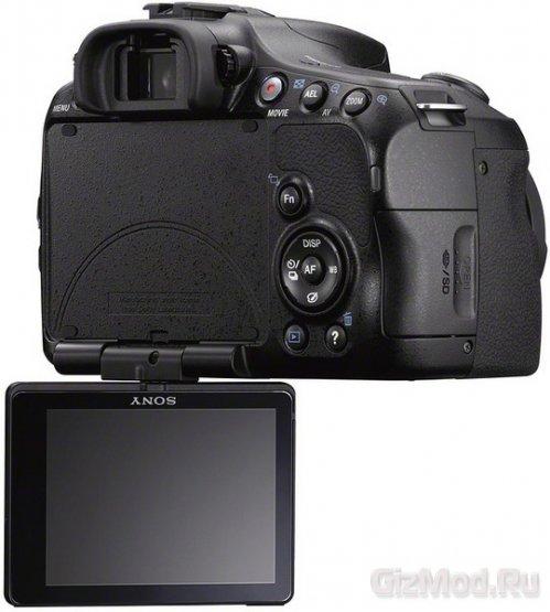 Sony представила зеркалку α57