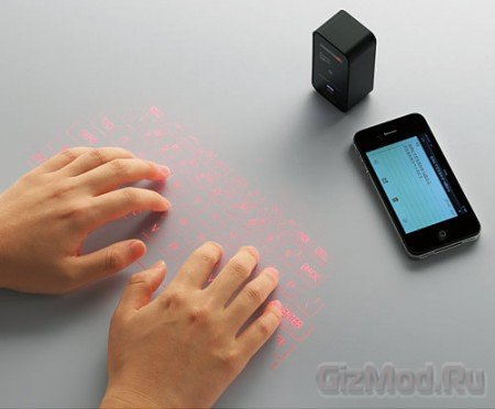 Проекционная клавиатура Elecom TK-PBL042BK