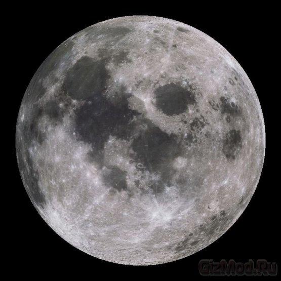 "4,5 млрд лет ""эволюции"" Луны за две минуты"
