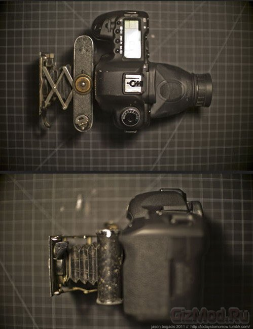 Canon 5D Mark II с оптикой 100-летней давности