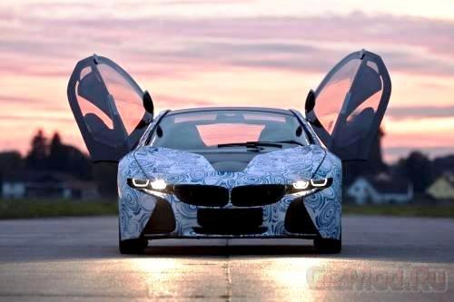Гибрид BMW i8 оказался мощнее
