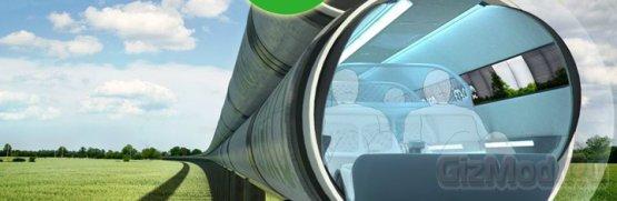 Первый вакуумный поезд построят в Китае