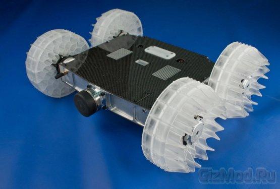 Робот прыгающий на 8 метров в высоту