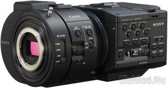 Камера Sony NEX-FS700E - видео 1080p 240 кадров/с