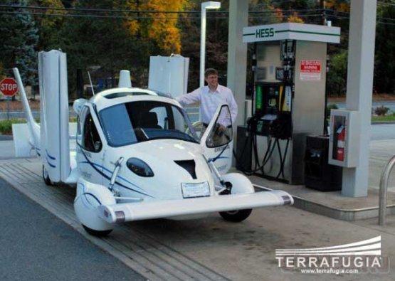 Terrafugia Transition также прошел тестовый полет