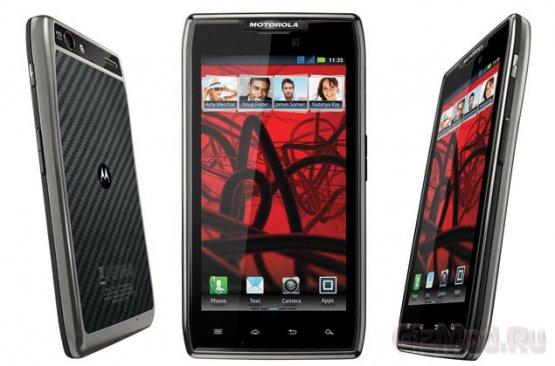 Начало продаж Motorola RAZR MAXX
