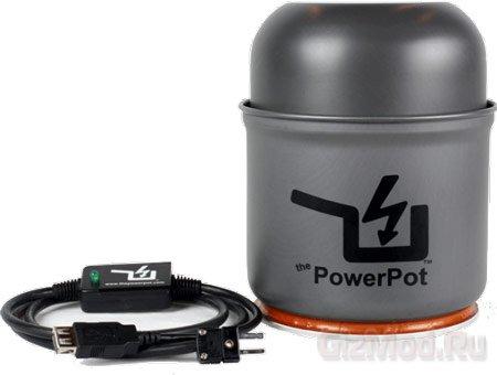 Теплогенератор-кастрюля PowerPot V для туристов