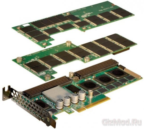 Первые SSD под шину PCI Express от Intel