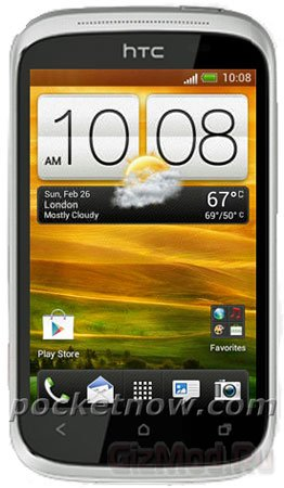 Бюджетный смартфон HTC Wildfire C