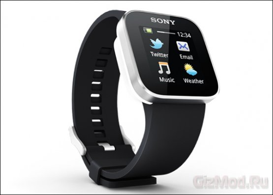 Часы Sony SmartWatch в магазинах