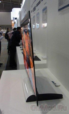 IGZO-экраны поставили на конвеер