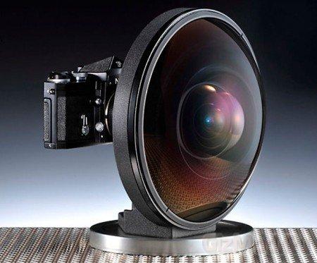 Гиганский объектив рибий глаз за $160 тис. от Nikon