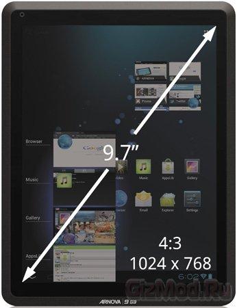 Archos представила планшеты Arnova 10b и Arnova 9