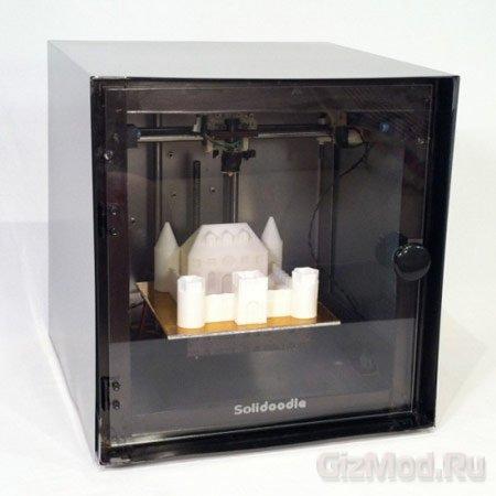 3D-принтер Solidoodle стоимостью $499