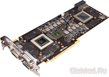 NVIDIA GeForce GTX 690 официально