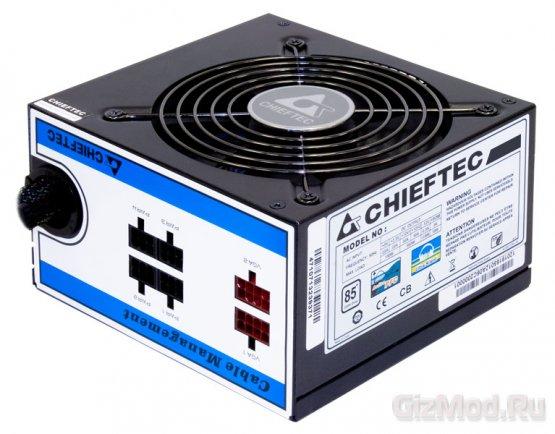 Эффективные блоки питания Chieftec A-80
