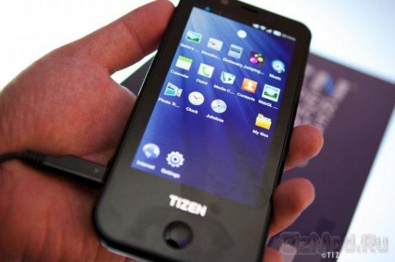 Прототип смартфона Samsung на базе ОС Tizen