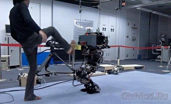 Очень устойчивый двуногий робот HRP3L-JSK