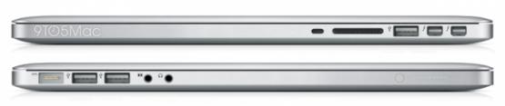 MacBook Pro обзаведется Retina-дисплеем и USB 3.0