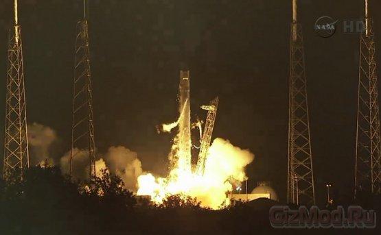 Dragon успешно вышел на орбиту