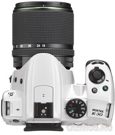 Пыле-влаго защищенная зеркалка PENTAX K-30